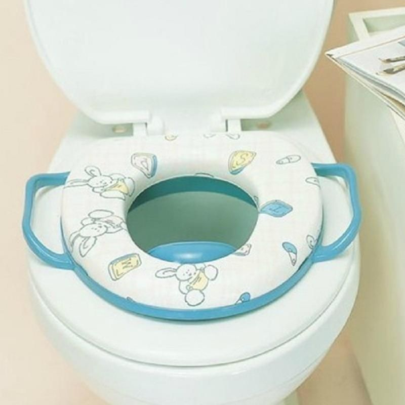 Baby Infant Safety Child Potty Training Portable Car Toilet Bowl Seat Cover  Ring Wc Random Colors