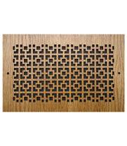 Squares Design Wall Registers Air Return Grilles Wall Floor Just H Flooring Square Design Floor Registers