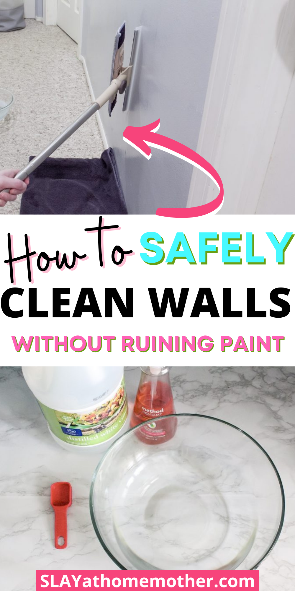 How To Wash Walls - Homemade Wall Cleaner Recipe in 28