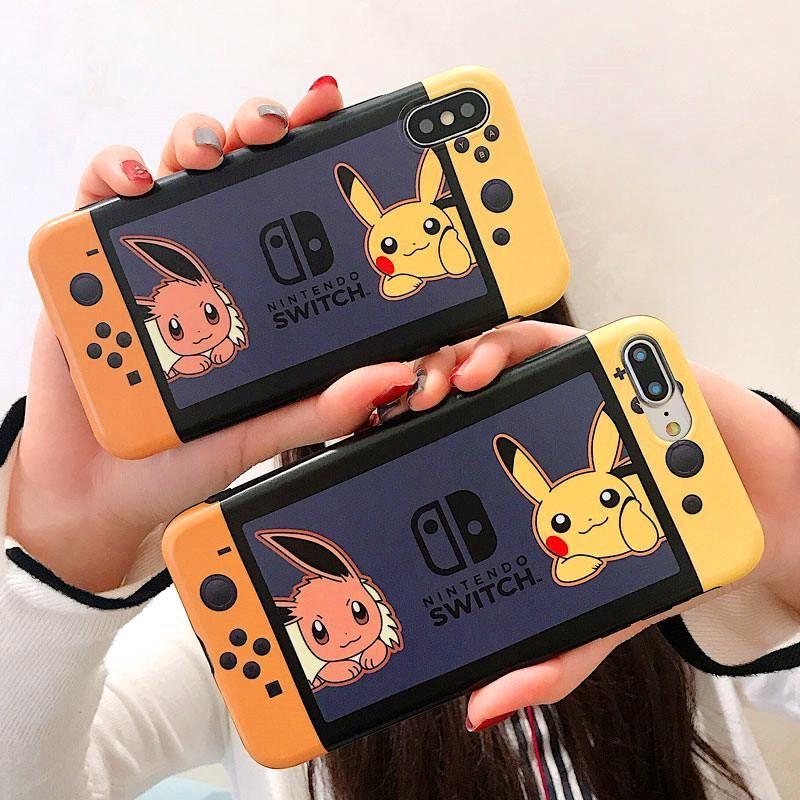 Kawaii Pikachu Games Phone Case for iphone 6/6s/6plus/7