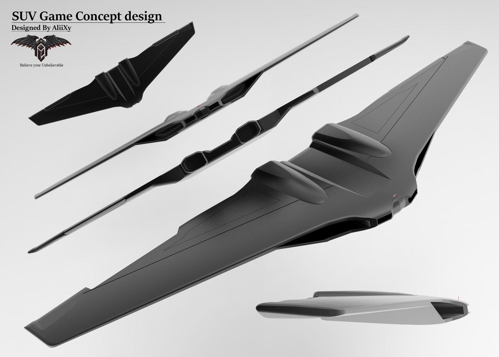 AUV concept designs