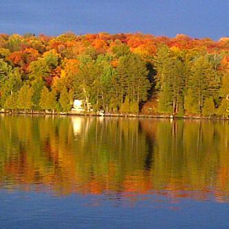 Beautiful Horn Lake Burks Falls Ontario New York Thanksgiving Countries Of The World Scenery