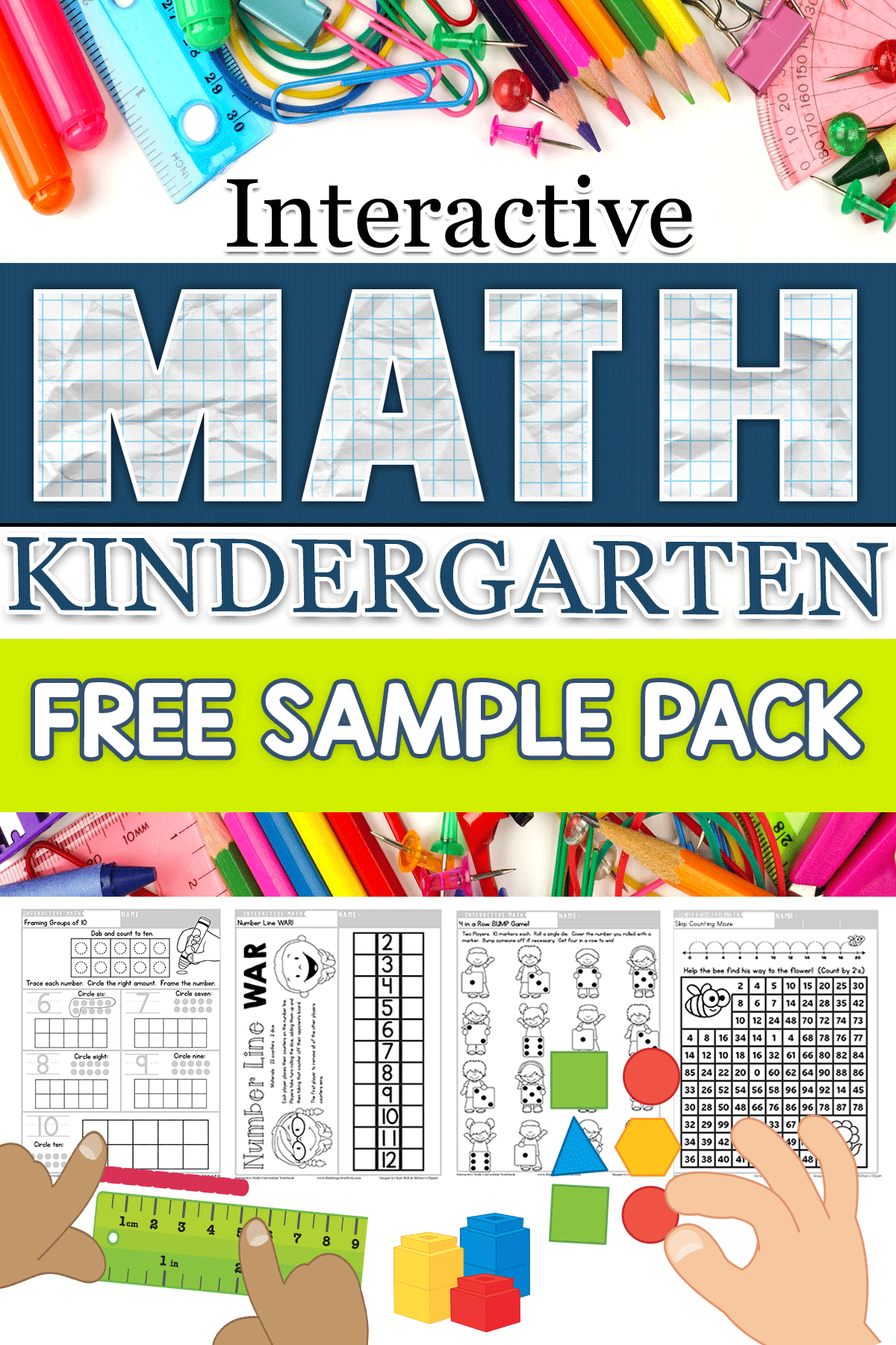 Download This FREE SAMPLE PACK With Five Engaging Math Lessons And