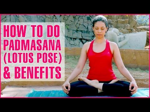 how to do the padmasana and what are its benefits  basic