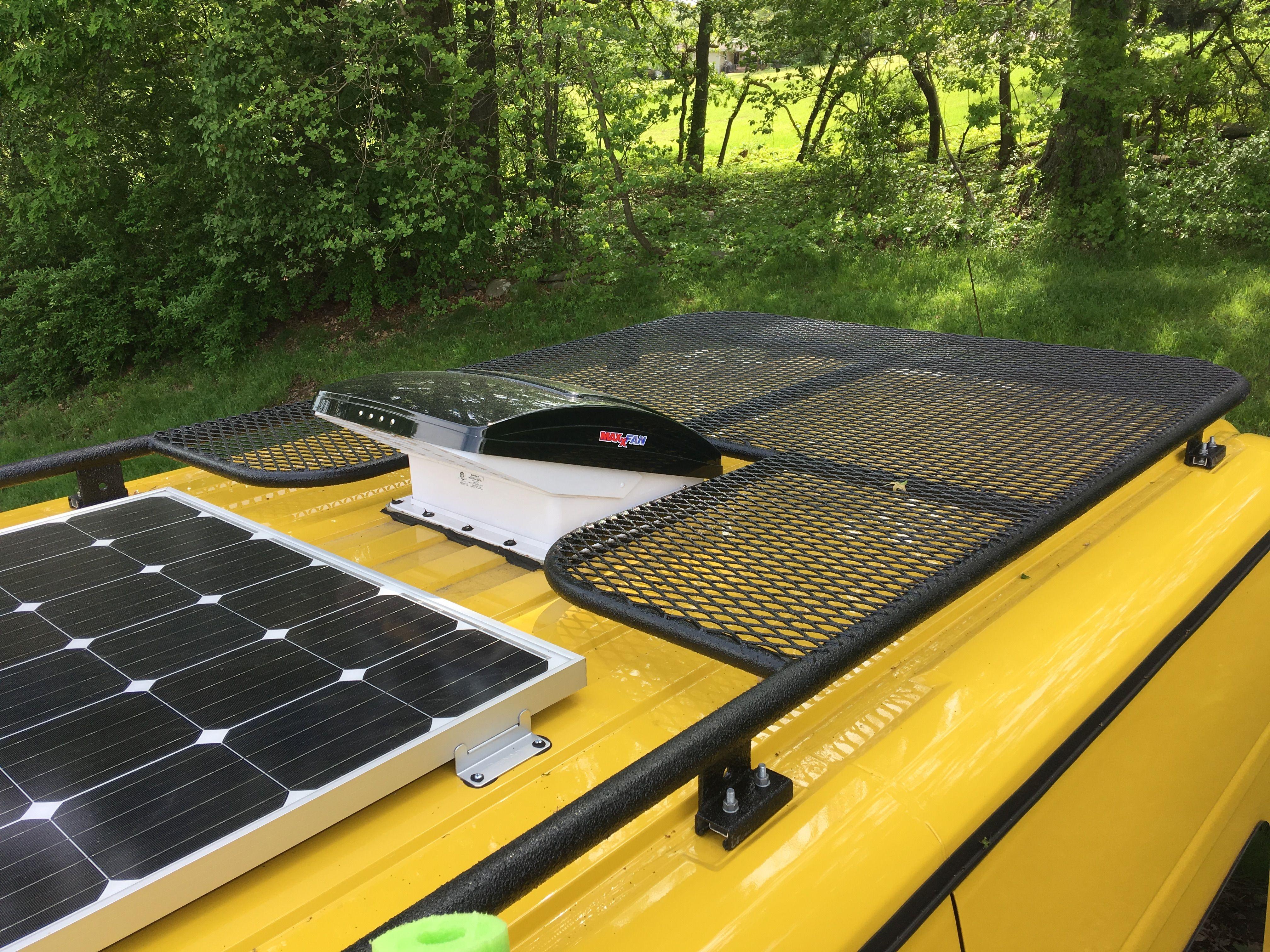 Custom Roof Rack Promaster Campervan Van Roof Racks Roof Rack Campervan