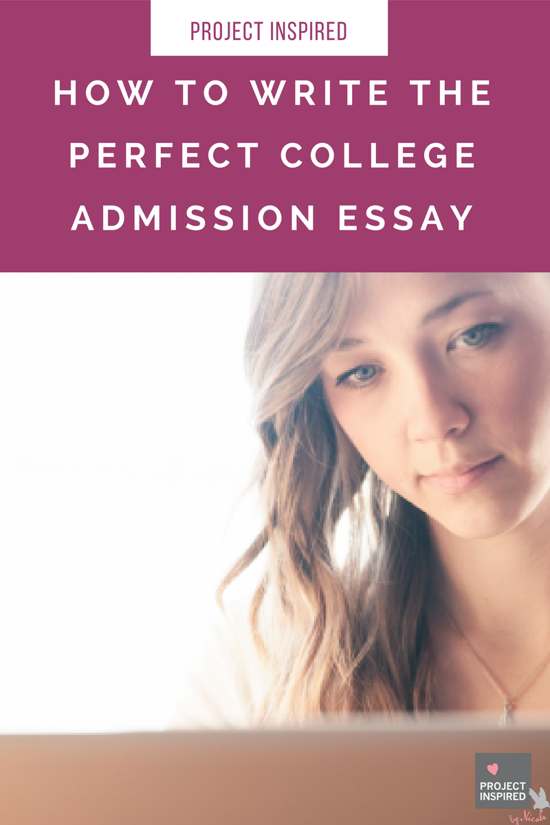 Learn How to Start a College Application Essay - Examples