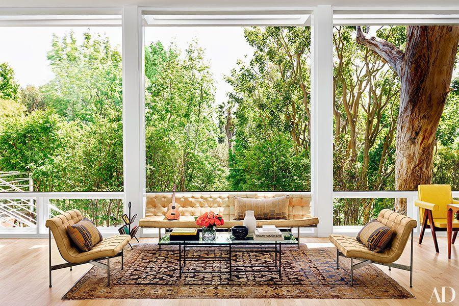 Tour the Laidback 1950s Los Angeles Home of Art Dealer Maggie Kayne - dekovorschlage wohnzimmer essbereich