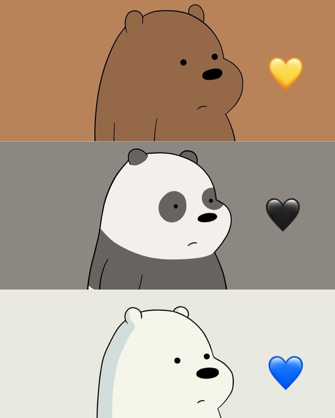 Tag Someone You Are Mad At But Still Love Bear Wallpaper We Bare Bears Wallpapers We Bare Bears