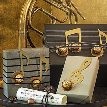 Kreativ mit Ferrero #geschenkeverpacken