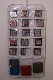 video game storage  not so much this idea exactly but