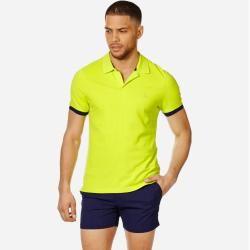 Photo of Herren Ready to Wear – Solid Polohemd aus Baumwolle für Herren – Polohemd – Palatin – Grün – Xl – Vi