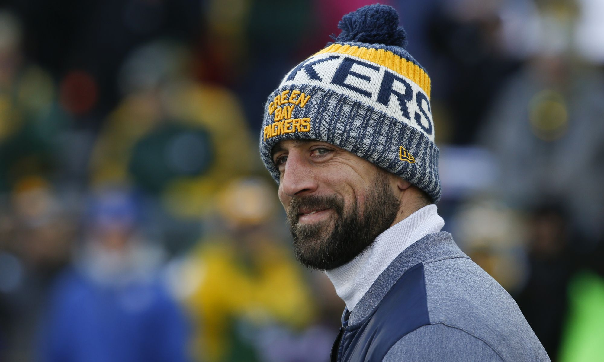 Aaron Rodgers' cute Thanksgiving cleats have tiny pumpkins
