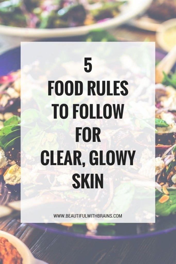 What to eat for beautiful skin #skincarediet #beautyfoods #foodsforskin #skincare #healthyeating #glowyskin #probiotics
