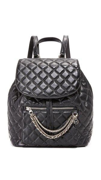 d0df30ca8007 MICHAEL MICHAEL KORS Cheyenne Quilt Backpack. #michaelmichaelkors #bags # leather #backpacks #