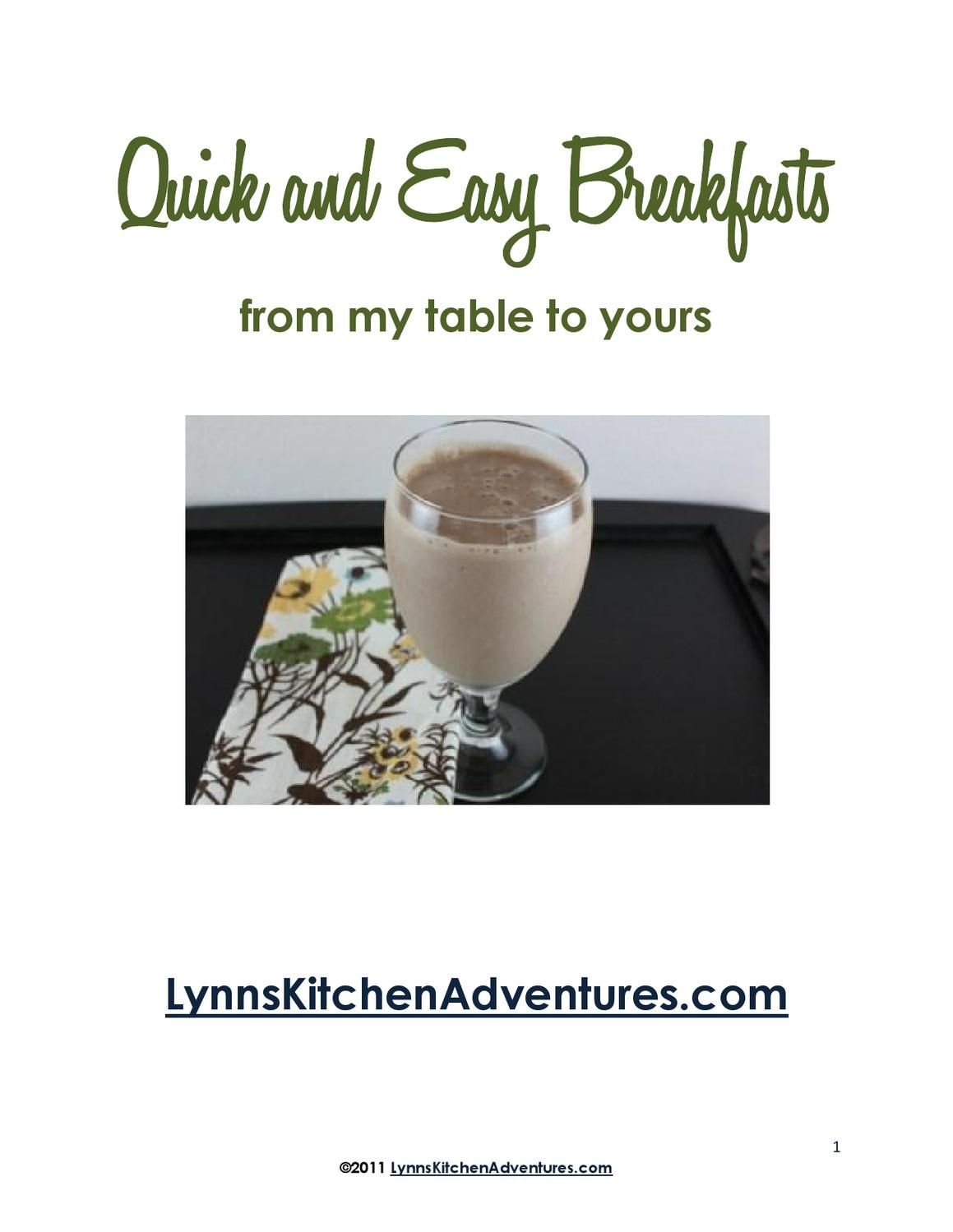 Breakfast-Ebook
