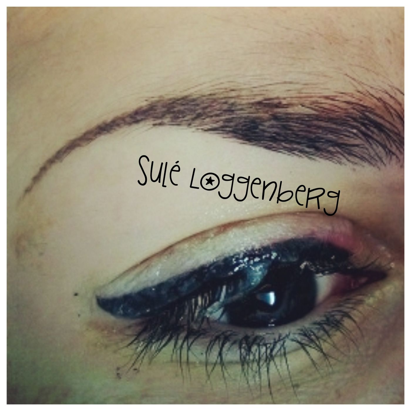 Permanent Liquid Eyeliner! & 3D effect at the end of the