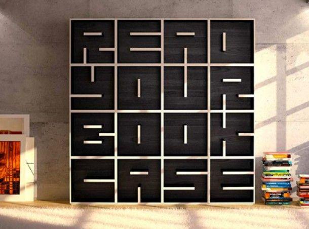 Cute! modulaire boekenkast abc van saporiti. door vickym house