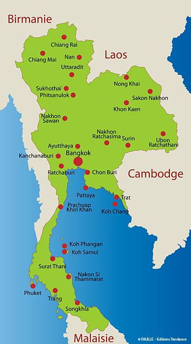 Carte Thailande Tourisme.Epingle Par Ayla Stackoman Sur Voyages En 2019 Thailande