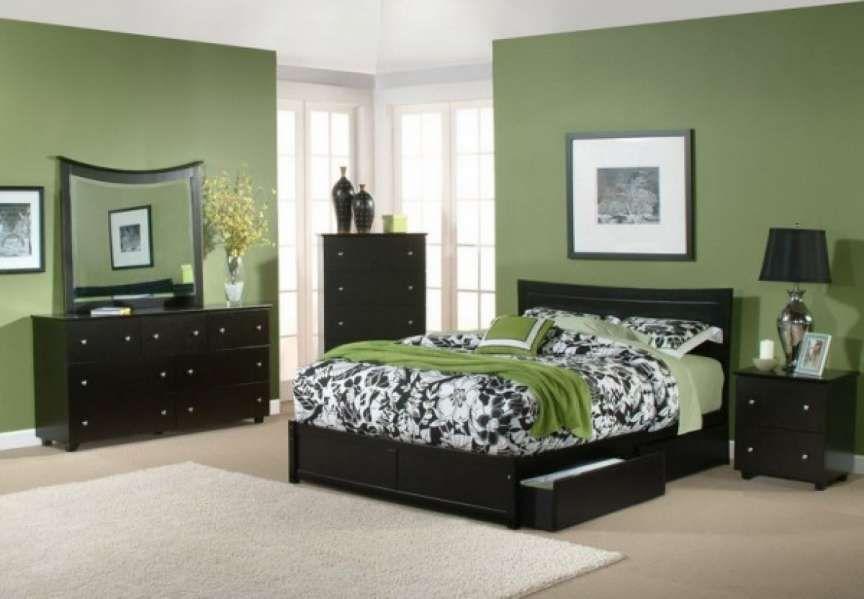 7 Fancy Bedroom Color Schemes Dark Furniture Photos Green Bedroom Walls Bedroom Color Schemes Bedroom Wall Colors