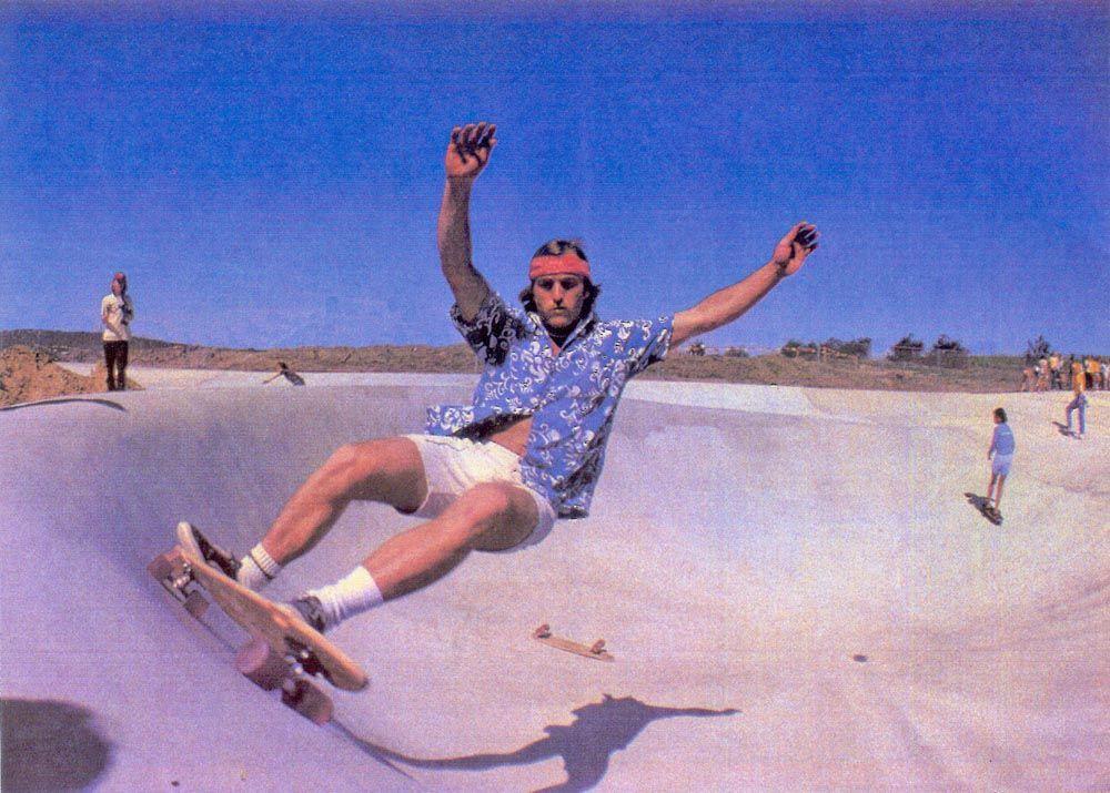 Image result for 70's skateboard park