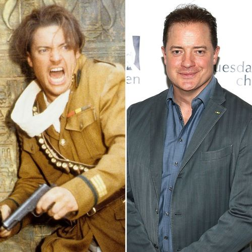 See Brendan Fraser Rachel Weisz And The Rest Of The Mummy Cast