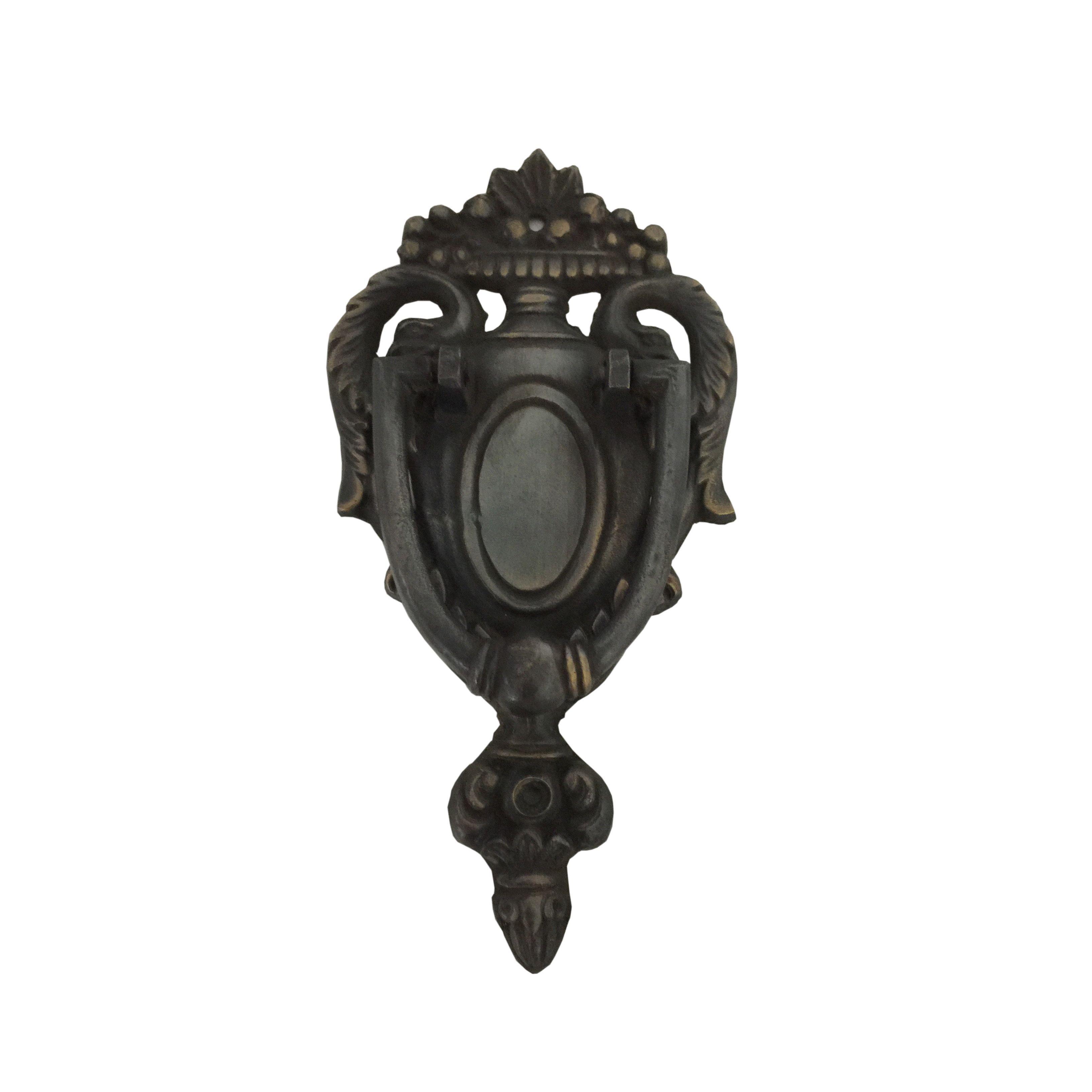 Trophy brass door knocker by dart products door knockers and doors