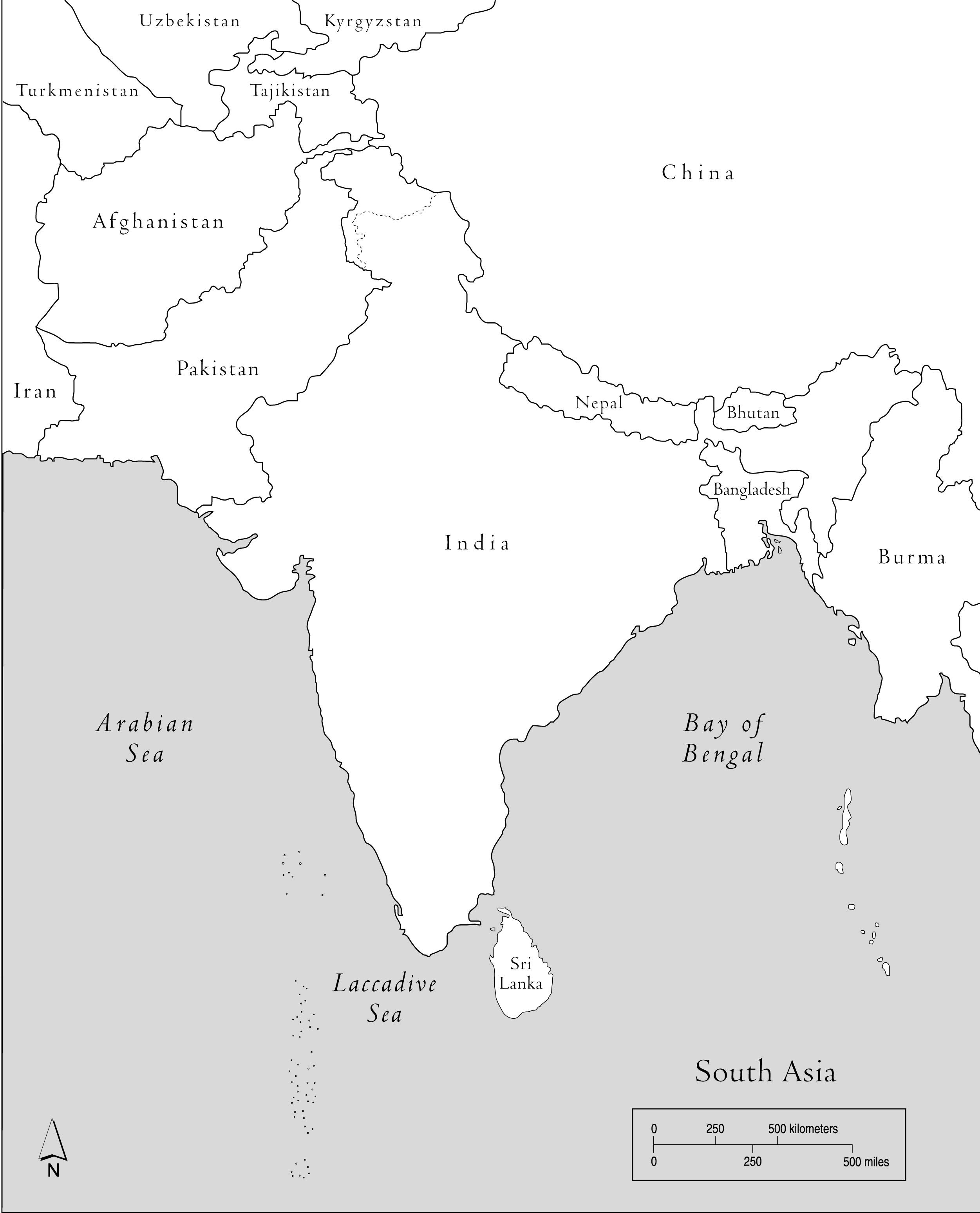 Bangladesh Blank Map south asia blank map grahamdennis for 2502 X ...