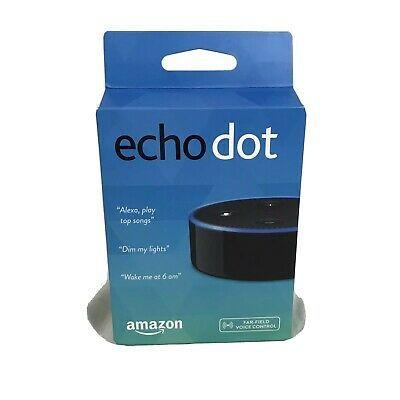 Smart speaker with Alexa. NEW/Sealed Amazon Echo Dot (2nd