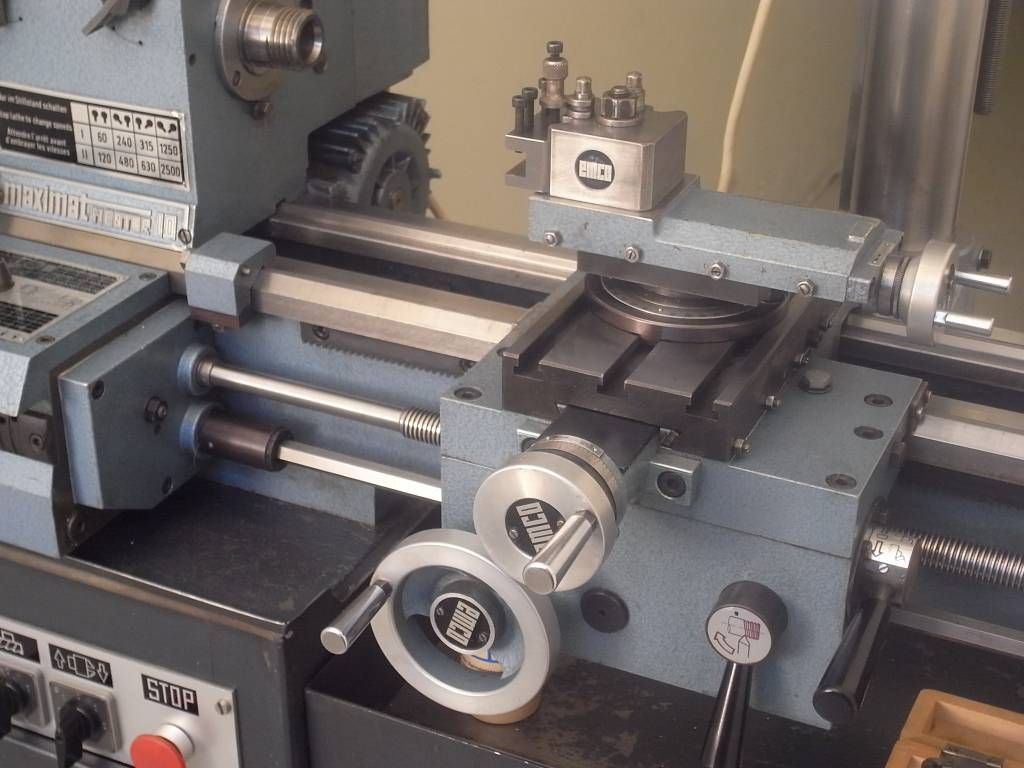 Emco Maximat Mentor 10 Lathe + Milling Attachment - Niels Machines