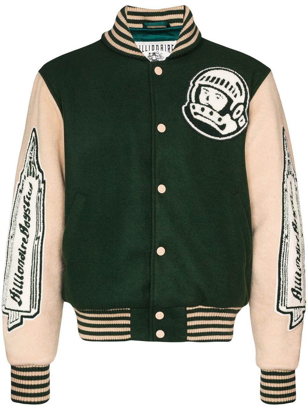 Billionaire Boys Club Astro Varsity Bomber Jacket Farfetch Designer Jackets For Men Varsity Jacket Men Varsity Bomber Jacket [ 1334 x 1000 Pixel ]