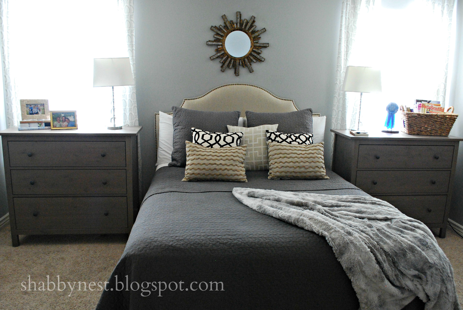 The Shabby Nest Using Dressers As Nightstands Dresser As