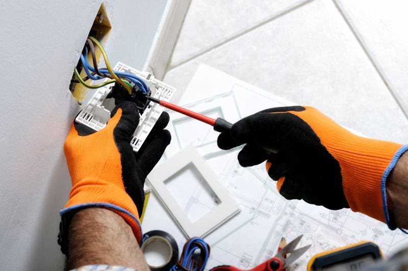 Power tool safety equipment electrical installation