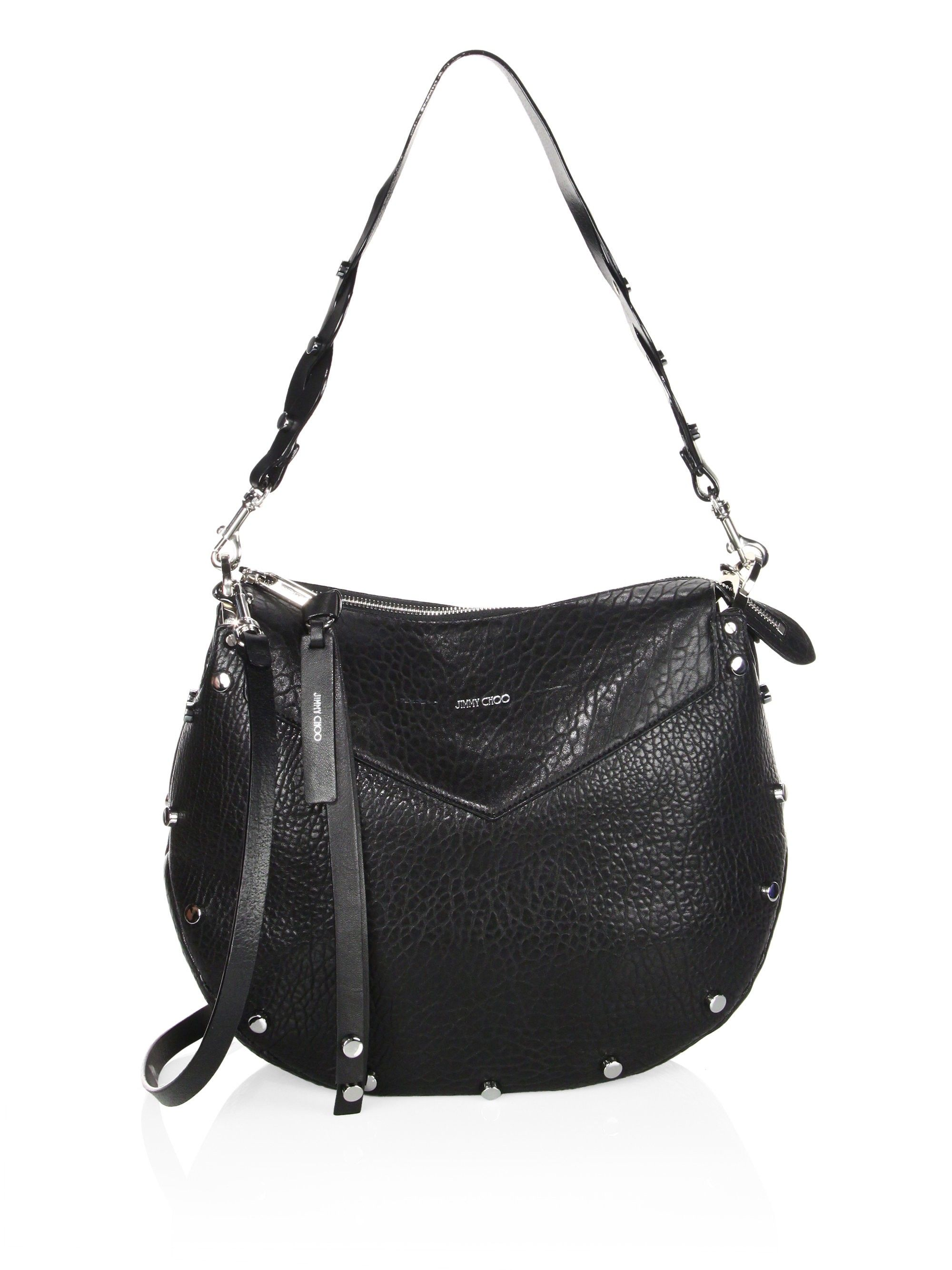 89d4a02d5e Artie Grainy Leather Shoulder Bag by Jimmy Choo in 2019   Products ...
