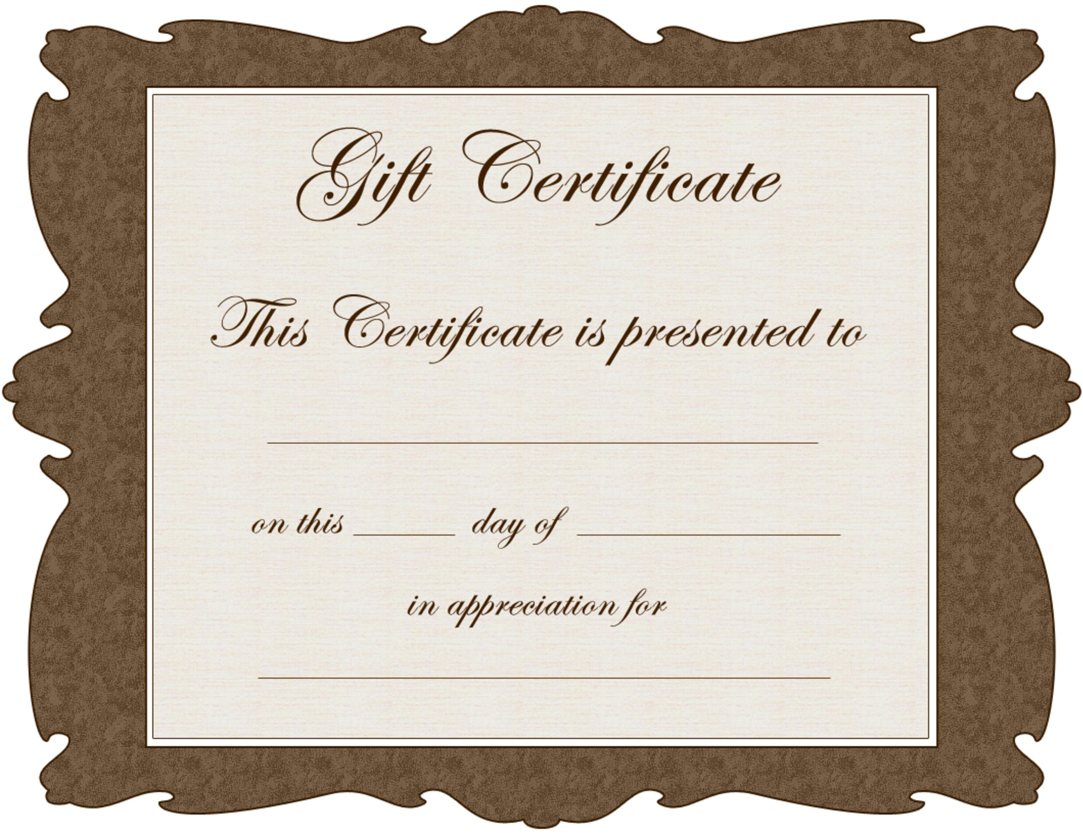 Quality 7 Babysitting Gift Certificate Template Ideas In 2021 Certificate Templates Gift Certificate Template Word Free Gift Certificate Template Free babysitting gift certificate template