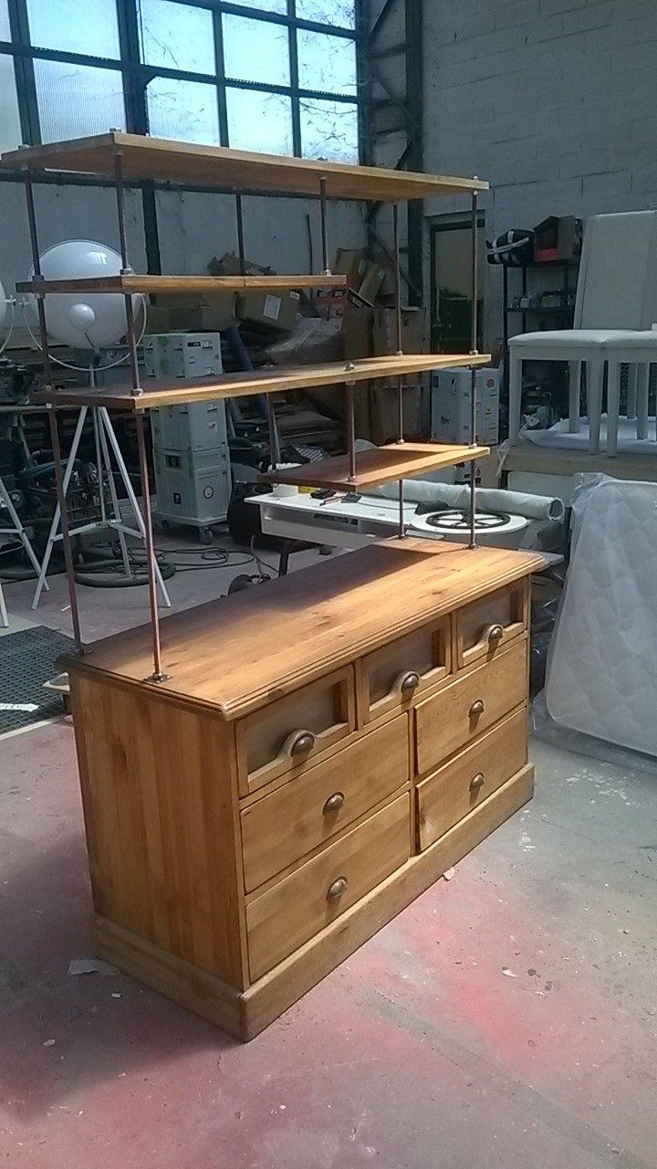 Moderniser un meuble grainetier l 39 atelier d co france 2 deco maison en 2019 meuble - Moderniser un meuble ...