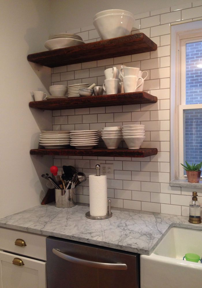 Reclaimed Barn Wood 3 36 X 12 X 2 Floating Shelves Floating Shelves Kitchen Floating Shelves Oak Floating Shelves