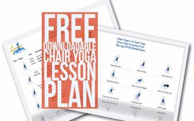 free downloadable chair yoga lesson plan pdf  yoga