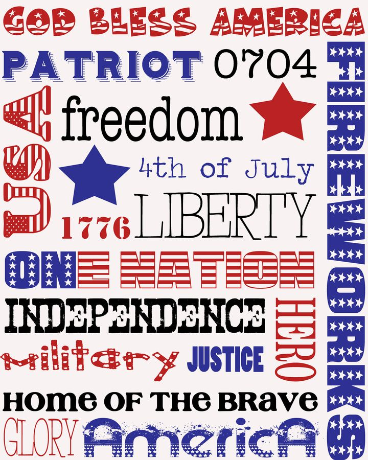 Patriotism Patriotic 4th of July Independence Day Freedom Ain/'t Free Cut File Pack