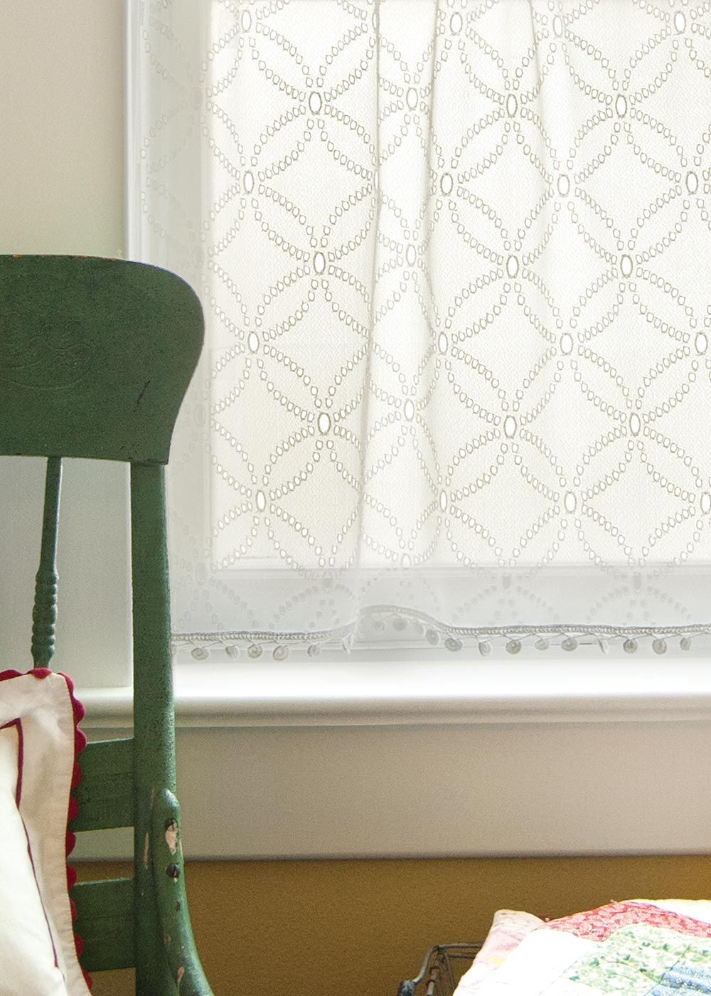 curtain curtains heritage eloquence of lace white panel roses