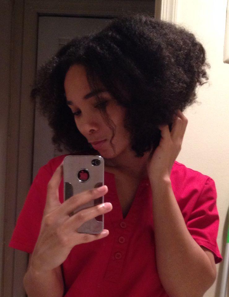 More gawjuss fluffy natural hair