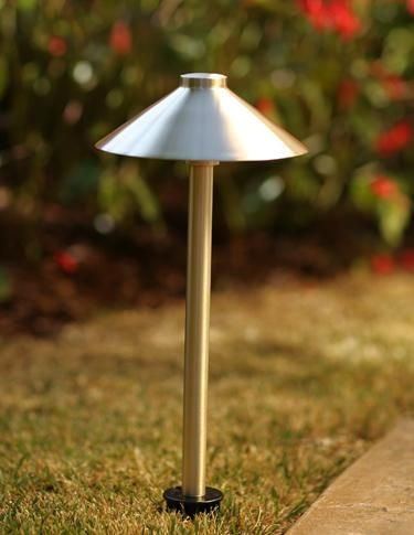 The Sollos Landscape Lighting Line From Halco Lighting Technologies  Incorporates Flexibility Into Simple, Elegant Designs, Such As This  Single Hat Path ...