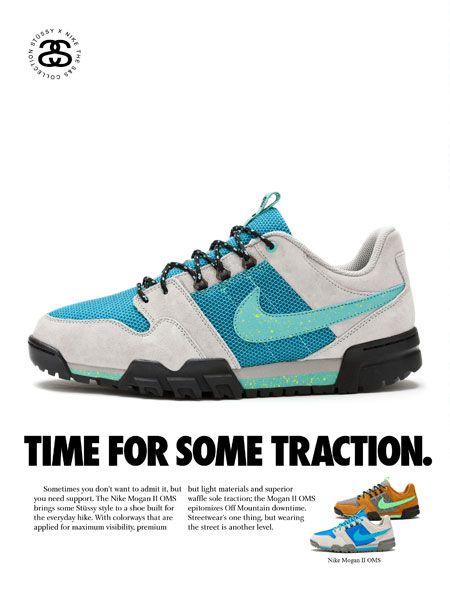 Fresh.    Nike + Stüssy hiking boot