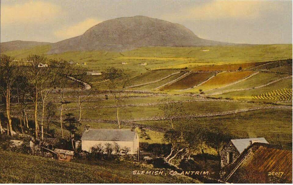 Slemish Co Antrim Northern Ireland 1920 S Ireland Irish Beautiful Places Ireland
