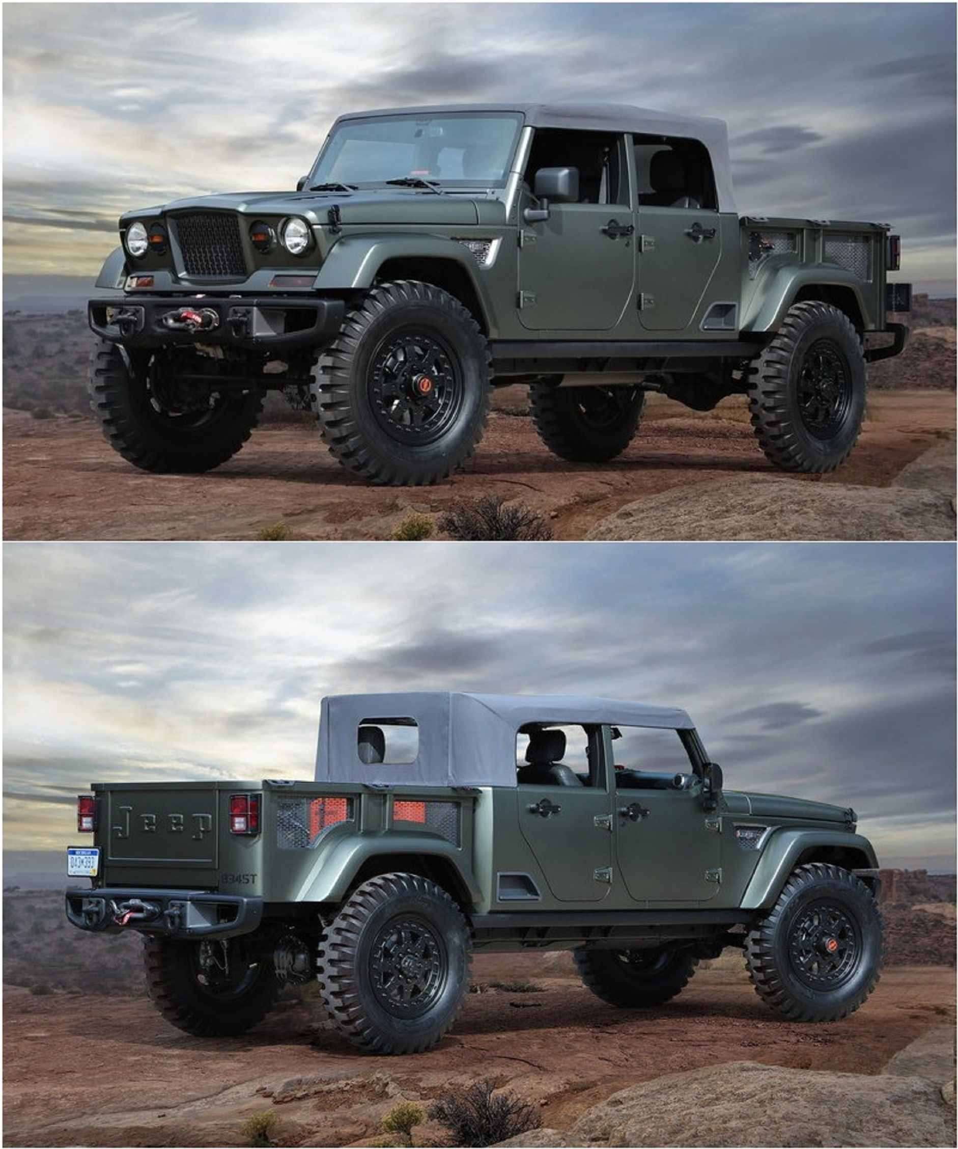 Jeep Crew Chief 715. http://topspeed.com/trucks/truck-reviews/jeep ...