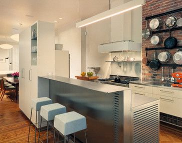 Greenwich Village Townhouse Contemporary Kitchen Melander Mesmerizing Townhouse Kitchen Design Ideas Design Ideas