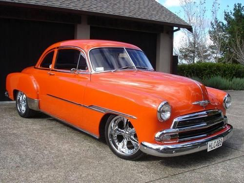 1951 Chevy Styleline Coupe Custom Classic Cars Chevy Classic
