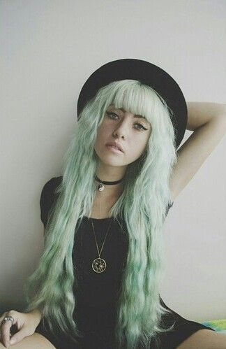 Incredible Trendy Hair Color Ideas Green Colors And Pastel Short Hairstyles For Black Women Fulllsitofus