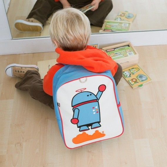 1cf596540 alexander the robot little kid backpack by beatrix new york. perfect size  for the little ones in your life :)