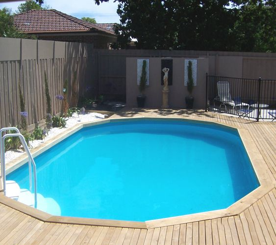 Sterns Above Ground Pool Sunk Decked Over Www Poolmasterpools