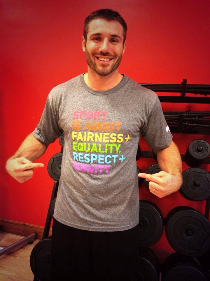 Sport is about Fairness + Equality. Respect + Dignity.  Ben Cohen